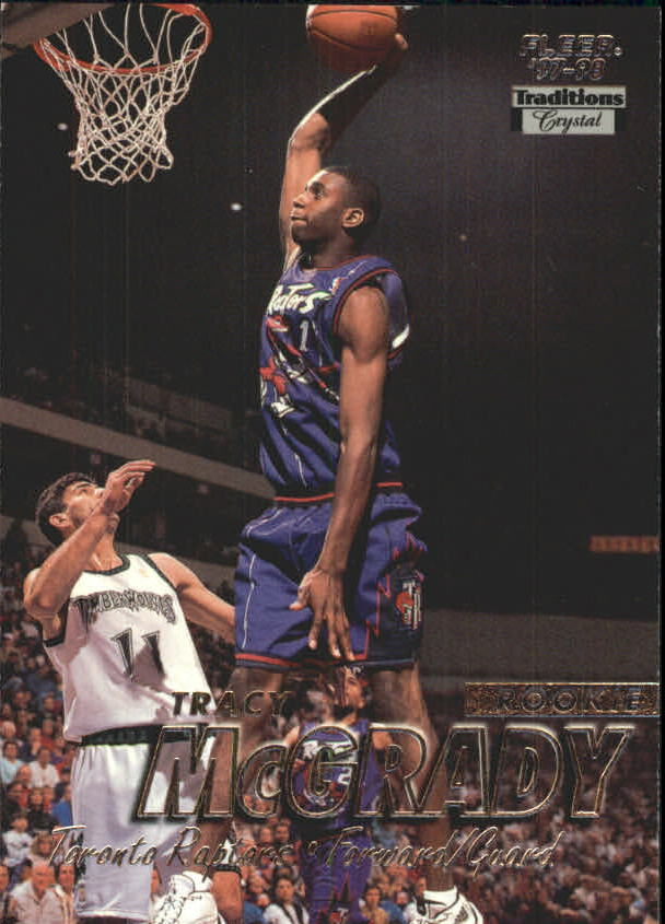 1997-98 Fleer Crystal Collection #226 Tracy McGrady