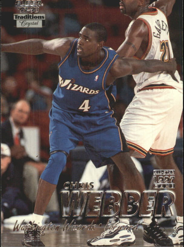 1997-98 Fleer Crystal Collection #290 Chris Webber