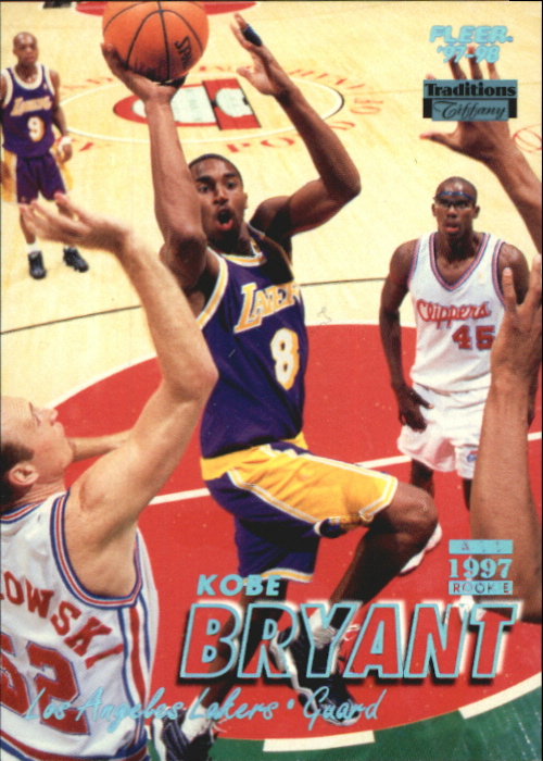 1997-98 Fleer Tiffany Collection #50 Kobe Bryant