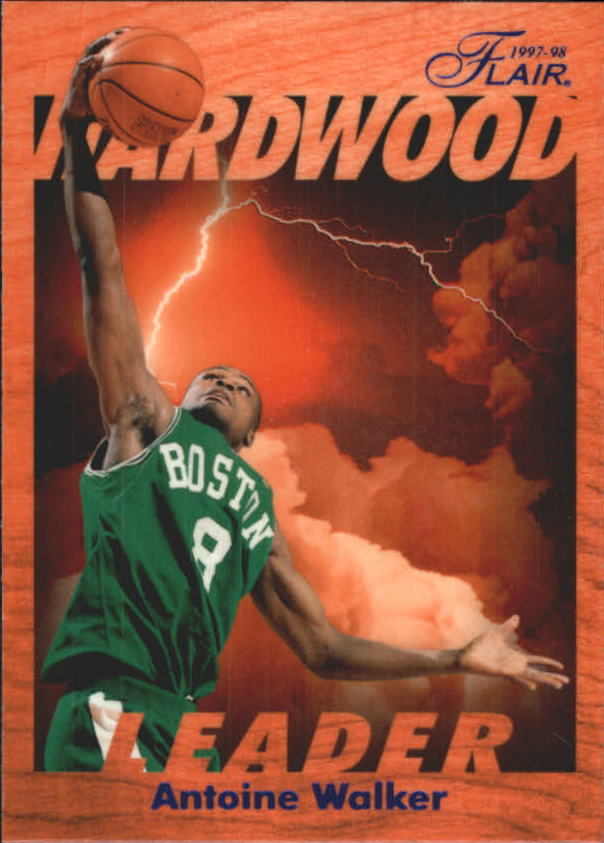 1997-98 Fleer Flair Hardwood Leaders #2 Antoine Walker