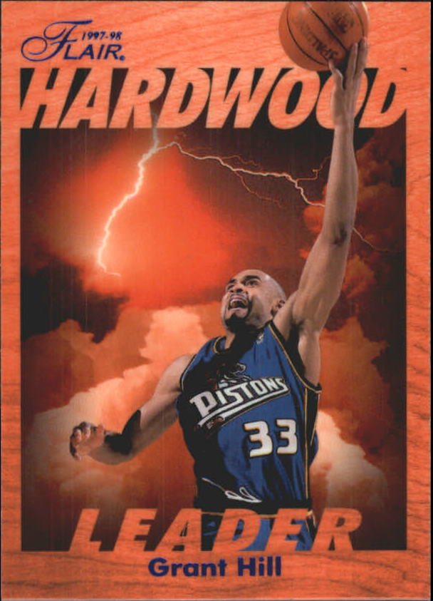 1997-98 Fleer Flair Hardwood Leaders #8 Grant Hill