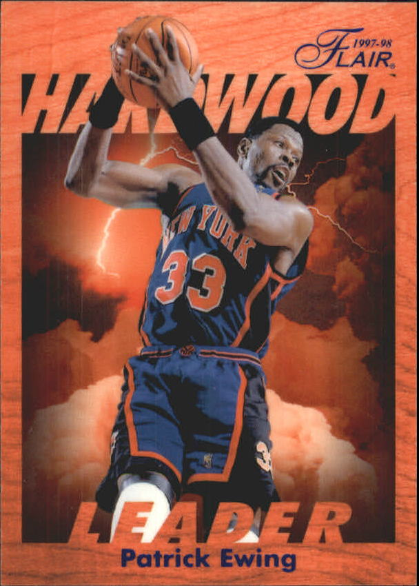 1997-98 Fleer Flair Hardwood Leaders #18 Patrick Ewing