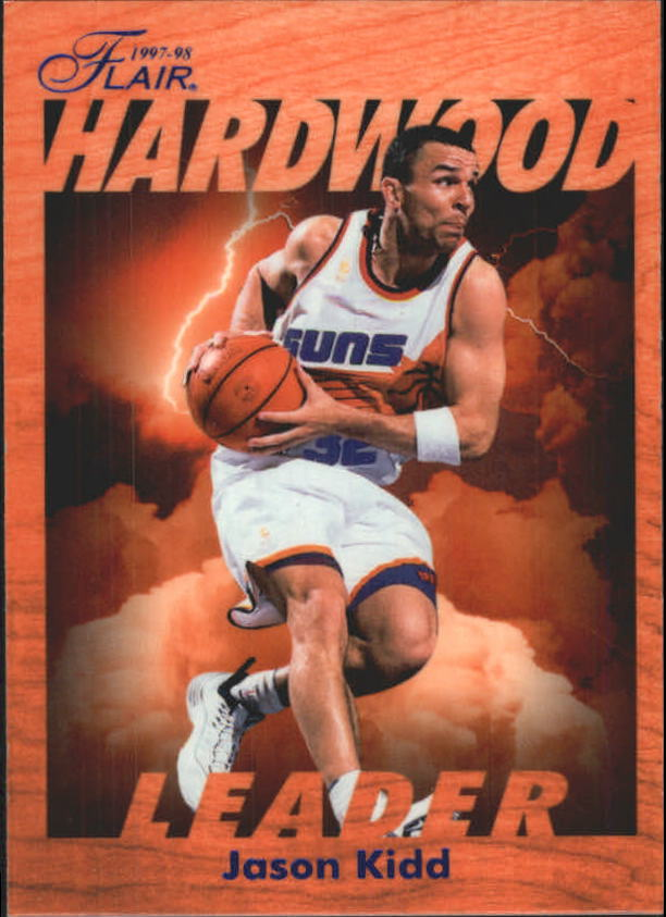 1997-98 Fleer Flair Hardwood Leaders #21 Jason Kidd