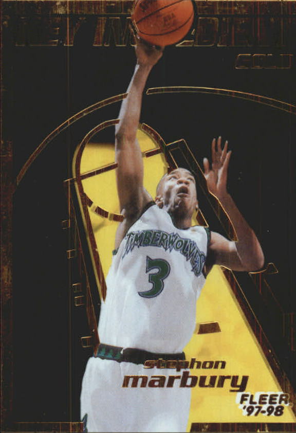 1997-98 Fleer Key Ingredients Gold #7 Stephon Marbury