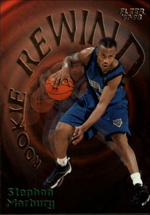 1997-98 Fleer Rookie Rewind #8 Stephon Marbury