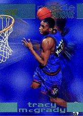 1997-98 Fleer Rookie Sensations #7 Tracy McGrady