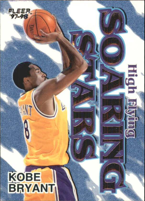 1997-98 Fleer High Flying Soaring Stars #4 Kobe Bryant