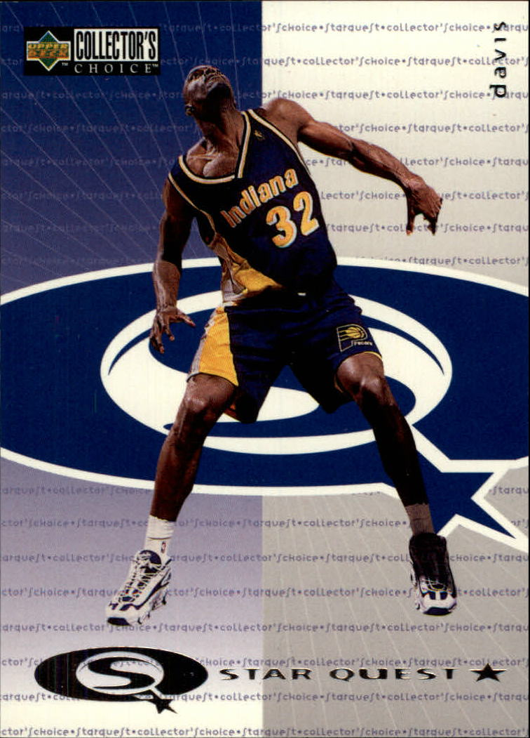 1997-98 Collector's Choice StarQuest #1 Dale Davis