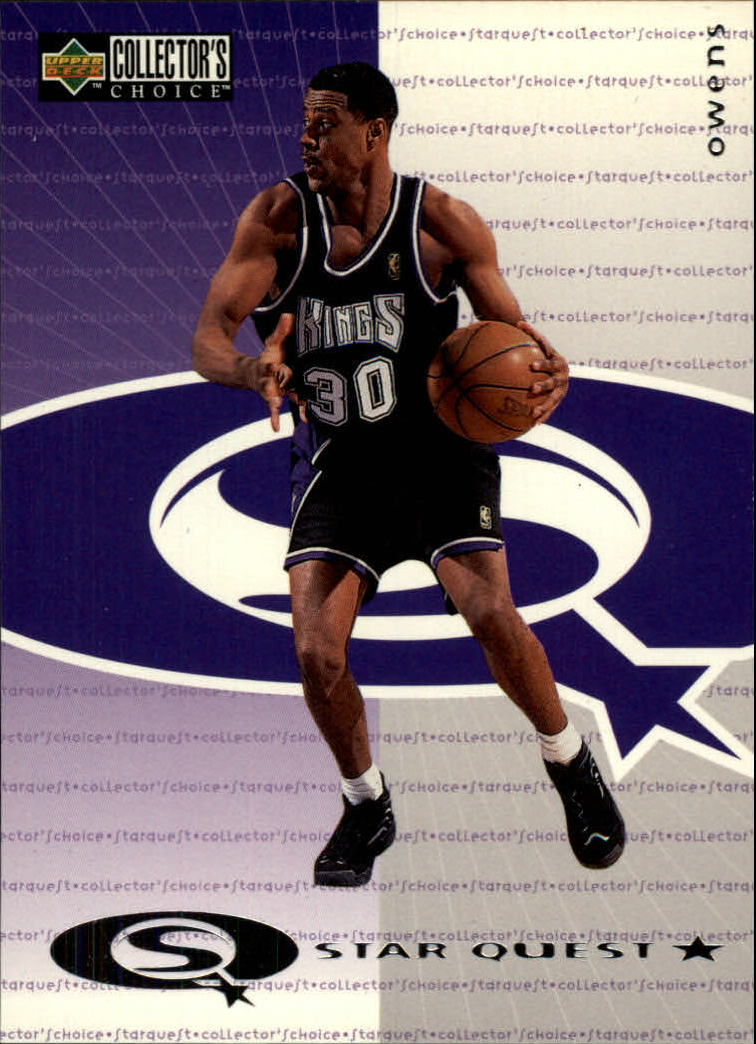 1997-98 Collector's Choice StarQuest #4 Billy Owens