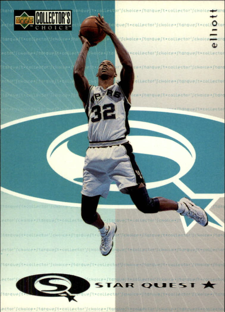 1997-98 Collector's Choice StarQuest #6 Sean Elliott