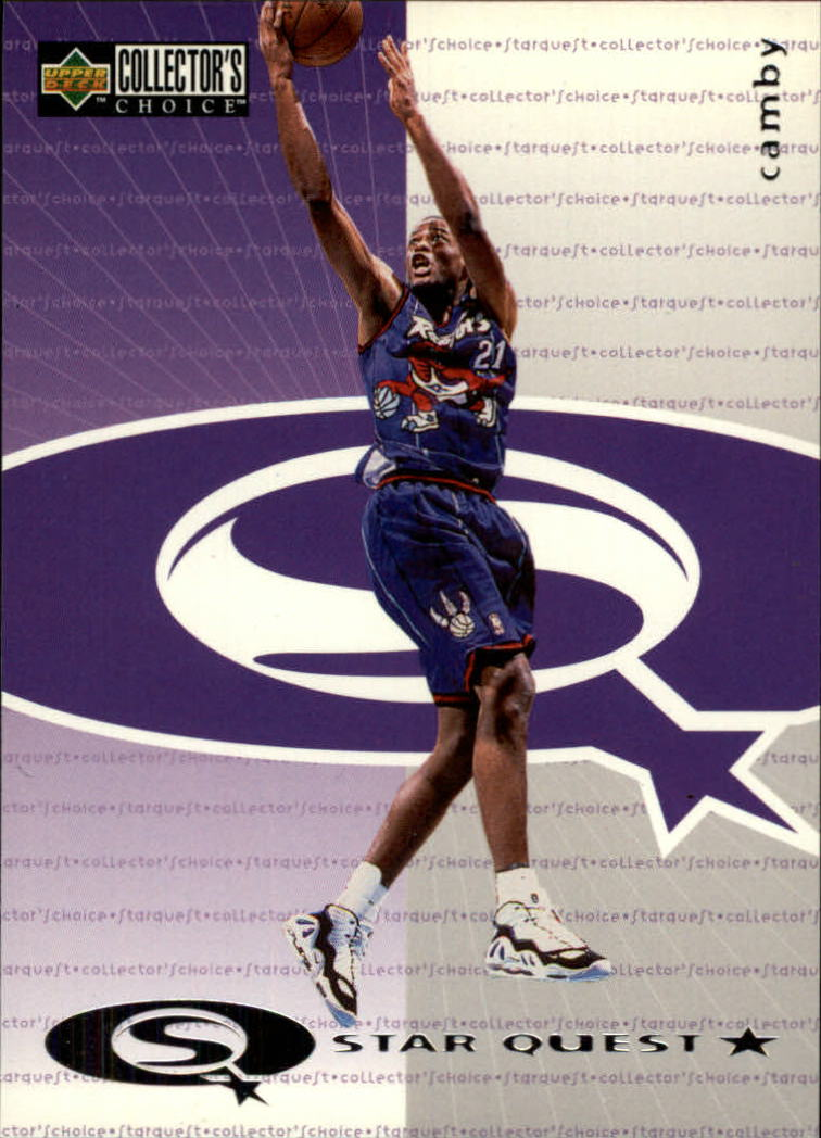 1997-98 Collector's Choice StarQuest #7 Marcus Camby