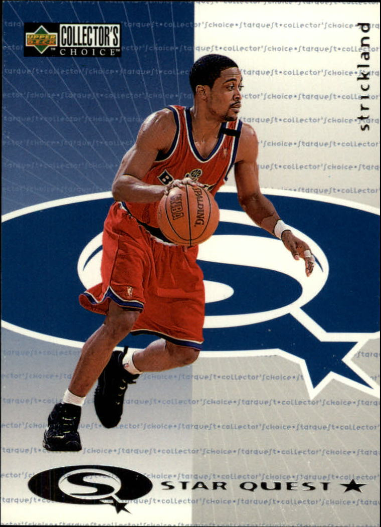 1997-98 Collector's Choice StarQuest #9 Rod Strickland