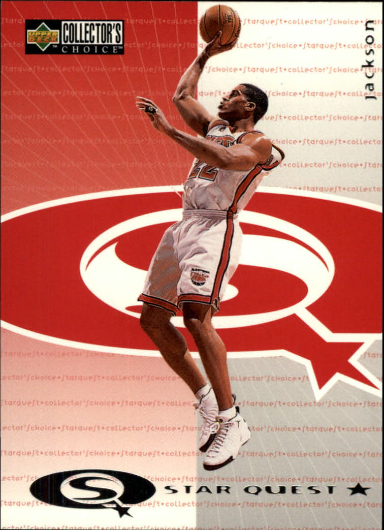 1997-98 Collector's Choice StarQuest #10 Jim Jackson