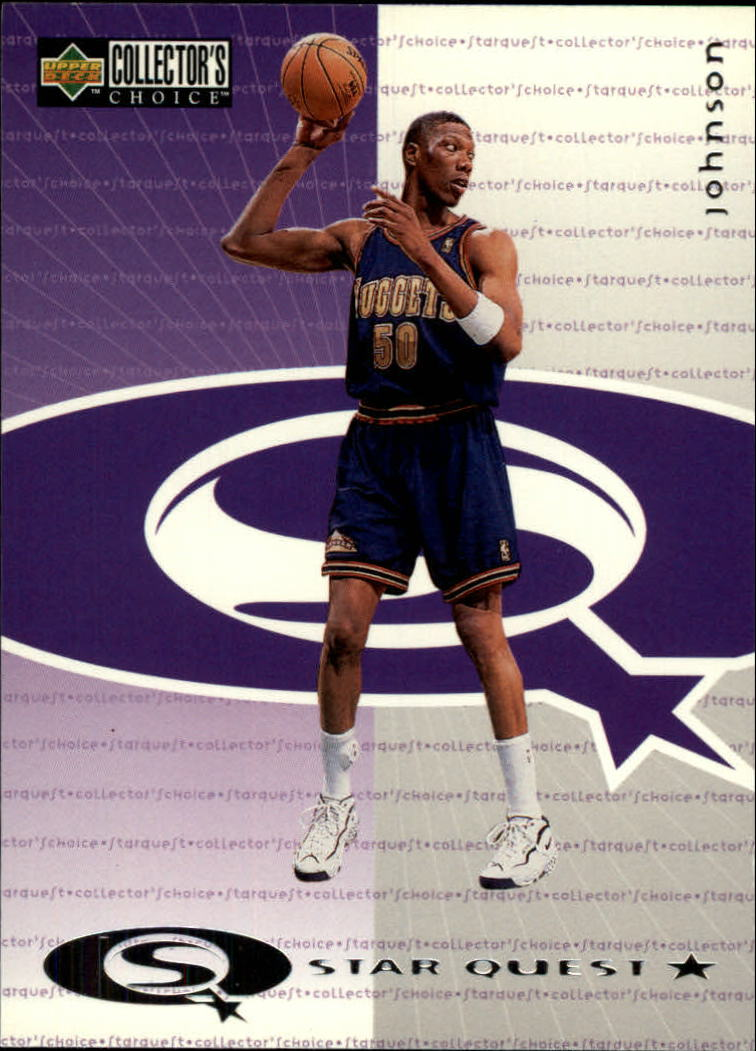 1997-98 Collector's Choice StarQuest #12 Ervin Johnson