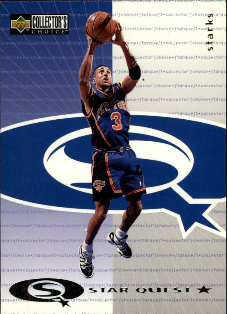 1997-98 Collector's Choice StarQuest #16 John Starks