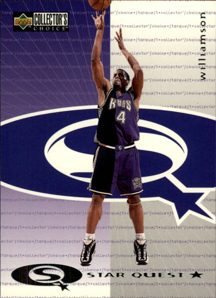 1997-98 Collector's Choice StarQuest #17 Corliss Williamson