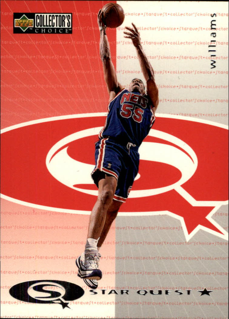 1997-98 Collector's Choice StarQuest #21 Jayson Williams