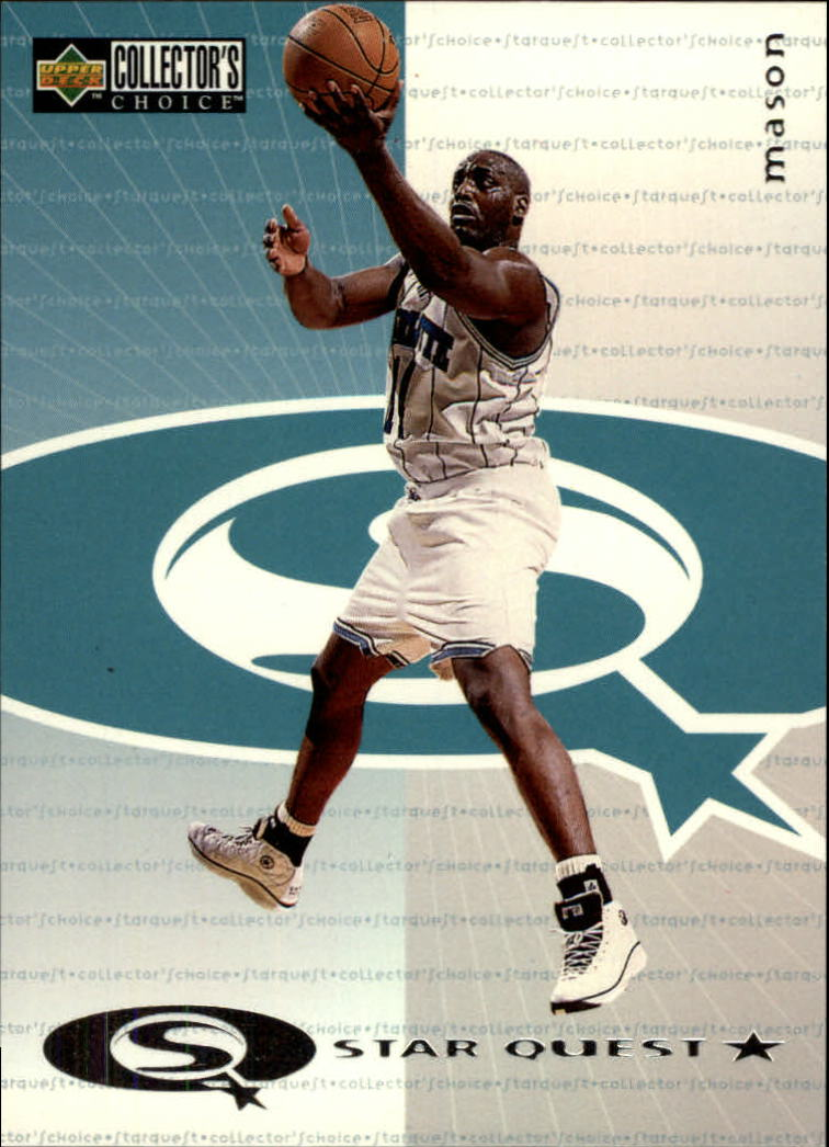 1997-98 Collector's Choice StarQuest #22 Anthony Mason