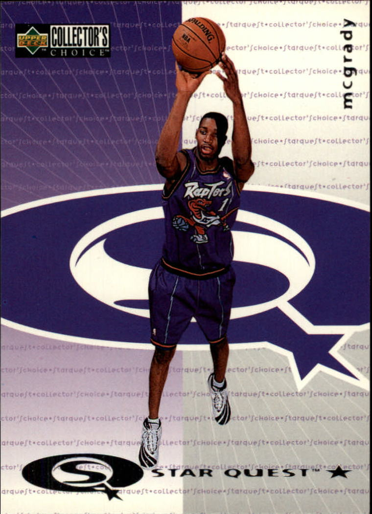 1997-98 Collector's Choice StarQuest #96 Tracy McGrady