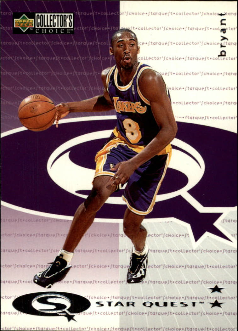 1997-98 Collector's Choice StarQuest #142 Kobe Bryant