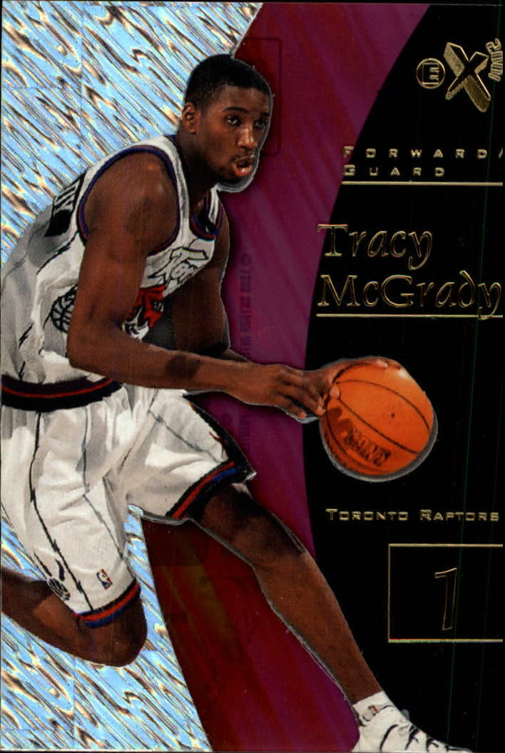 1997-98 E-X2001 #79 Tracy McGrady RC
