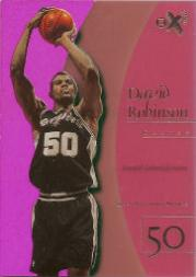 1997-98 E-X2001 Essential Credentials Future #18 David Robinson/63