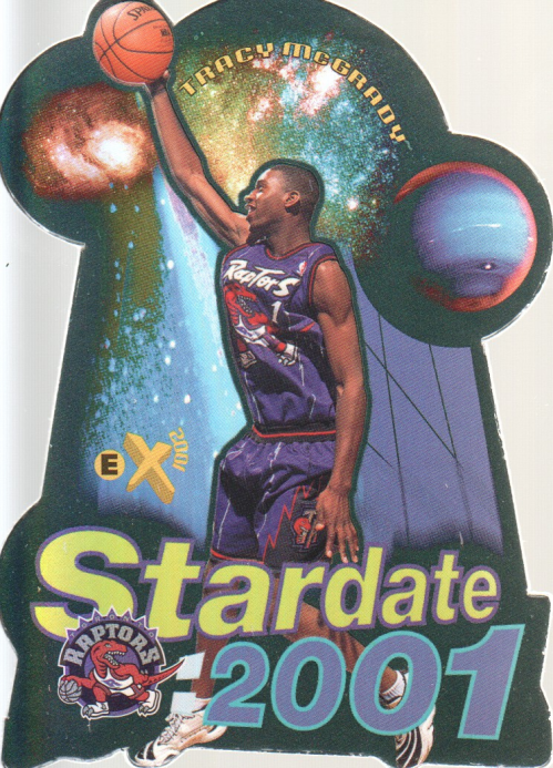 1997-98 E-X2001 Star Date 2001 #10 Tracy McGrady