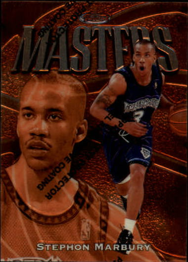1997-98 Finest #19 Stephon Marbury B