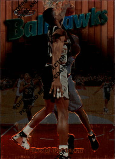 1997-98 Finest #20 David Robinson B