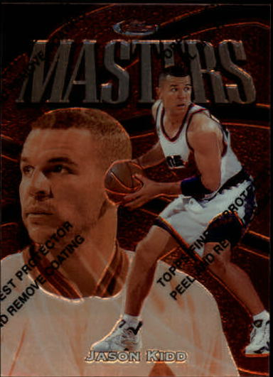 1997-98 Finest #95 Jason Kidd B