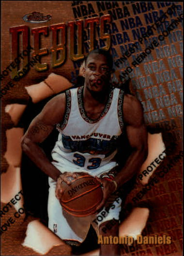 1997-98 Finest #104 Antonio Daniels B RC