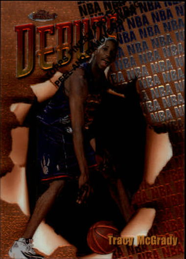 1997-98 Finest #107 Tracy McGrady B RC
