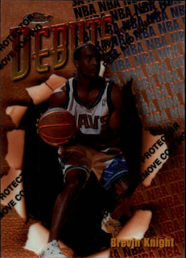 1997-98 Finest #115 Brevin Knight B RC