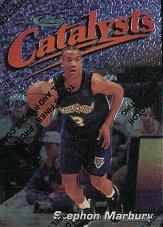 1997-98 Finest #121 Stephon Marbury S