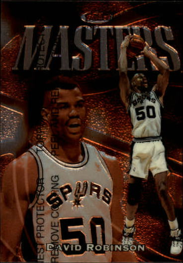 1997-98 Finest #203 David Robinson B