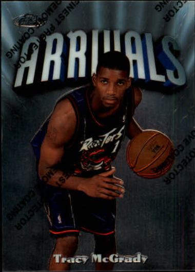 1997-98 Finest #294 Tracy McGrady S