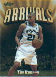 1997-98 Finest #325 Tim Duncan G