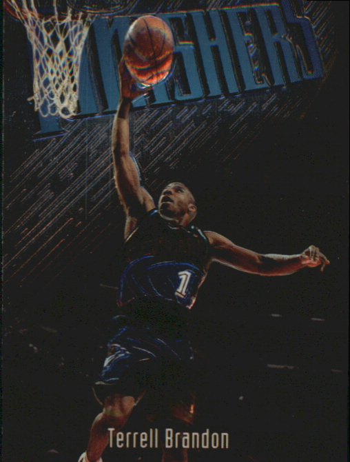 1997-98 Finest Embossed #122 Terrell Brandon S