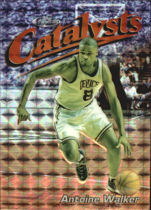 1997-98 Finest Embossed Refractors #126 Antoine Walker S