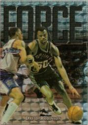 1997-98 Finest Embossed Refractors #146 David Robinson S