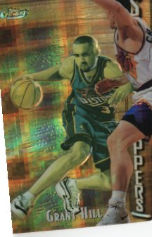 1997-98 Finest Embossed Refractors #308 Grant Hill G