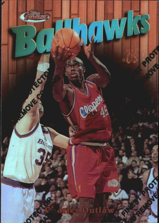 1997-98 Finest Refractors #3 Bo Outlaw B
