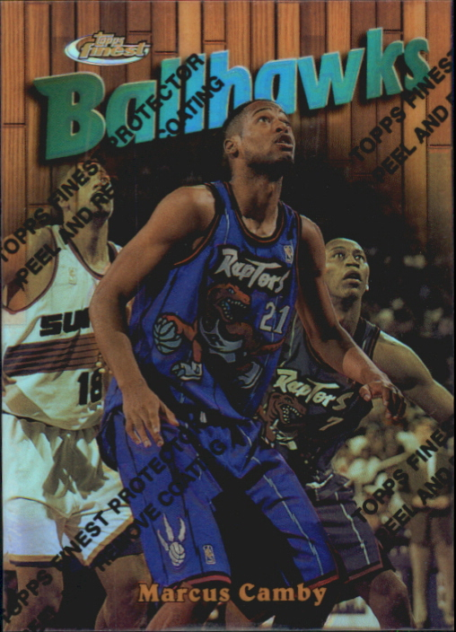 1997-98 Finest Refractors #159 Marcus Camby G