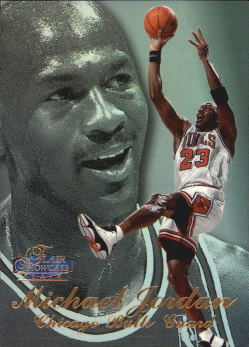 1997-98 Flair Showcase Row 3 #1 Michael Jordan