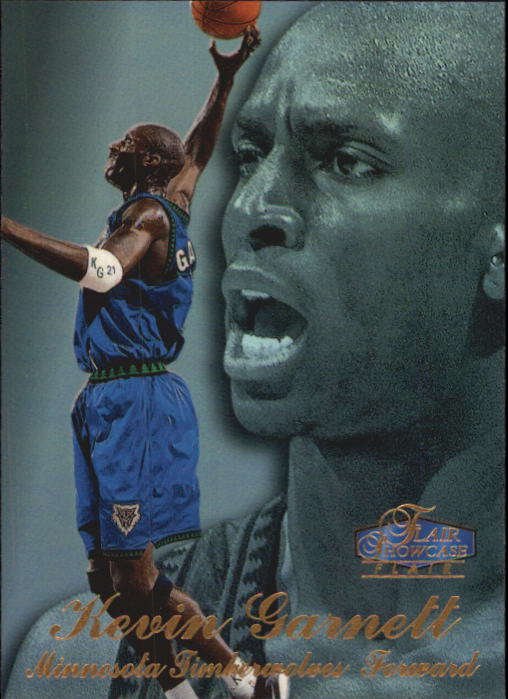 1997-98 Flair Showcase Row 3 #4 Kevin Garnett