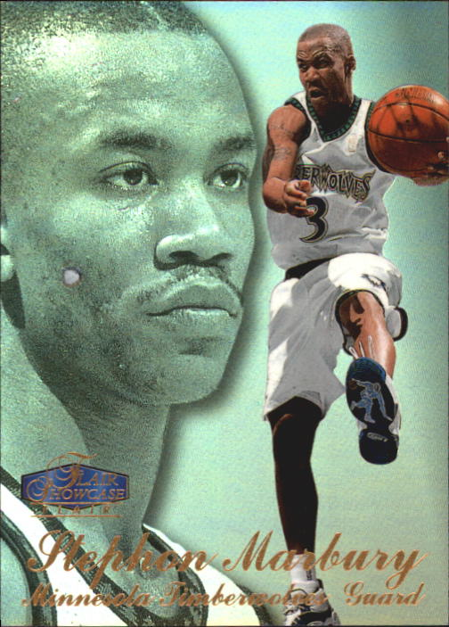 1997-98 Flair Showcase Row 3 #15 Stephon Marbury