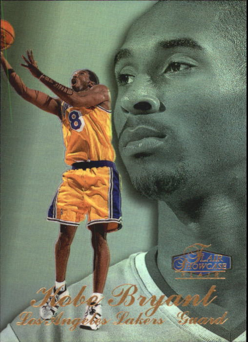 1997-98 Flair Showcase Row 3 #18 Kobe Bryant