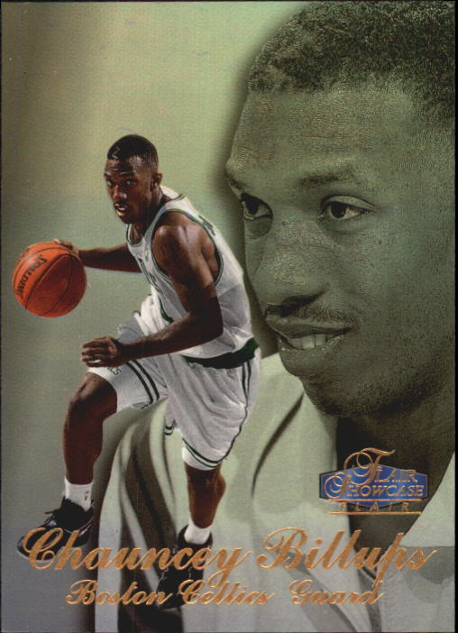1997-98 Flair Showcase Row 3 #20 Chauncey Billups RC