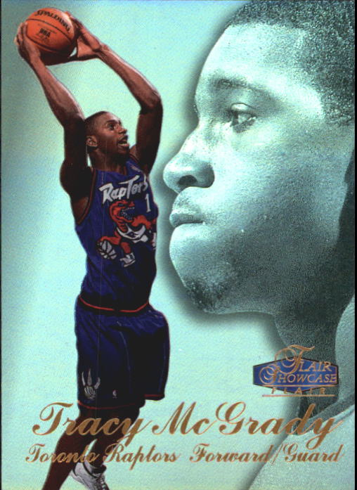 1997-98 Flair Showcase Row 3 #21 Tracy McGrady RC