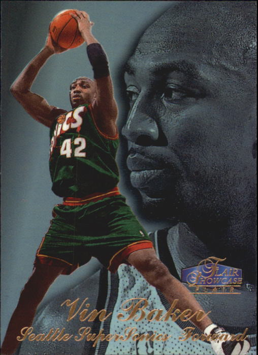 1997-98 Flair Showcase Row 3 #35 Vin Baker